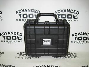 Black 10 5 Weatherproof Equipment Case 4 Trimble Geoexplorer 6000 Geo Xt Xh Xm