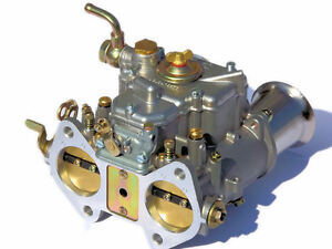 New 45dcoe 152g Carburetor With Air Horns Replacement For Weber Solex Dellorto