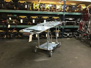 Ferno 93ex Squadmate Ambulance Incubator Stretcher Cot Air Shield Stryker