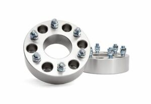 Rough Country 2 0 Wheel Spacers Adapters 6x5 5 Gm Truck Suv 1500 1101