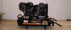 Air Compressor Mi t m 6 5 Hp Gas Power Single Stage Honda Engine Portable New