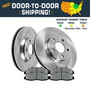 Front Oe Brake Rotors And Metallic Pads 300 300s Dodge Challenger Charger Magnum