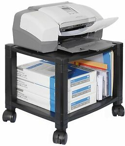 Computer Fax Printer Moble Cart For Office Or Home