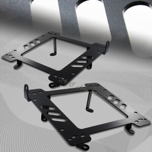 For 1997 2006 Jeep Wrangler Tj Bolt On Racing Seat Mount Base Bracket Adapters