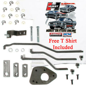 Hurst Comp 4 Speed Shifter Install Linkage Kit 433 Ford Mercury Top Loader T