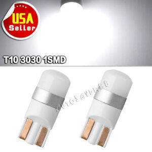 2pcs White Cob Led Waterproof Driving Car Drl Daytime Light Fog Lamp Bar 14cm