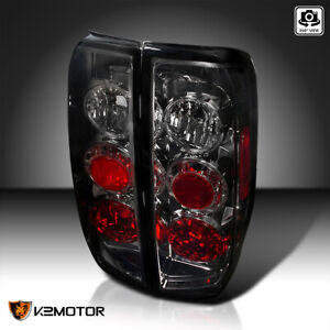 For 2005 2014 Nissan Frontier 09 12 Suzuki Equator Smoke Tail Lights Lamps L r