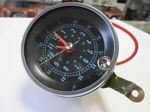 1966 1967 66 67 Chevelle El Camino New Floor Shift Console Clock