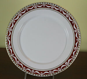 Collectors Cabinet Plate Hand Painted Dark Brown Fond With Rich Gold