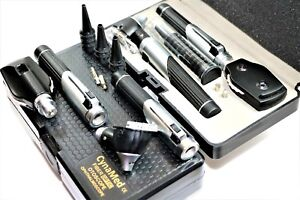 O r Grade Mini Ophthalmoscope Opthalmoscope Otoscope Fibre optic Diagnostic Set
