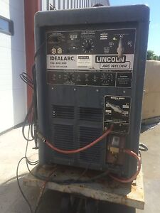 Lincoln Idealarc Tig 300 300 Arc Welder Stick Metal Ac Dc