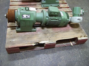 Sew eurodrive Electric Motor And Gear Reducer 265 460v 3 Phase