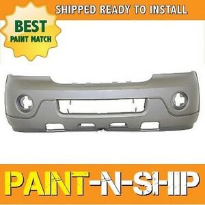 New 2003 2004 Lincoln Navigator Front Bumper Painted Fo1000525