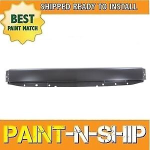 New Fits 2007 2008 Chevy Silverado 1500 Front Metal Bumper W O Hole Painted