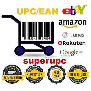 50 000 Upc Ean Codes Numbers Barcodes For Amazon Ebay Lifetime Guarantee