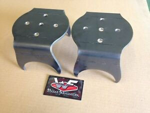 Universal Rear Bag Over 3 5 Axle Lower Bracket Pair Minitruck Rat Rod