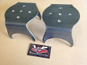 Universal Rear Bag Over 4 Axle Lower Bracket Pair Minitruck Rat Rod
