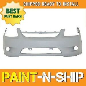 New Fits 2008 2009 2010 Chevy Cobalt 2 4 W Oturbo Front Bumper Painted Gm1000827
