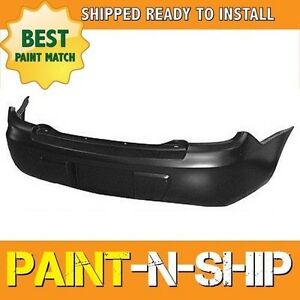 New Fits 2003 2004 2005 Dodge Neon Rear Bumper Painted Ch1100863