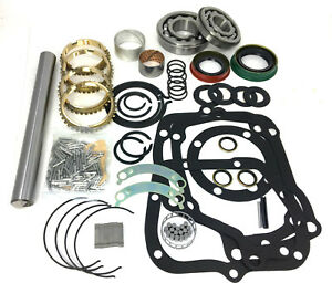 Muncie 4 Speed Transmission Rebuild Kit Max Load Bearings Bk116ws Master