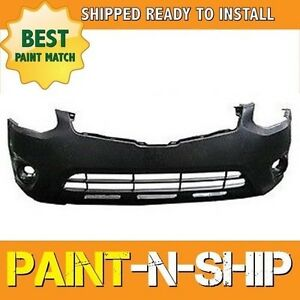 New Fits 2011 2012 2013 Nissan Rogue S sl sv Front Bumper Painted Ni1000277