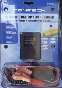 Automatic Vehicle Battery Float Trickle Charger 12 Volt Car Truck Boat