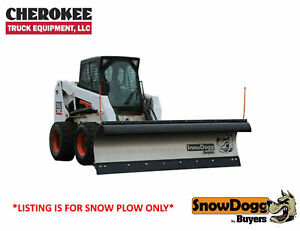 Snowdogg Buyers Products Skte80 8 Stainless Steel Snow Plow With Trip Edge