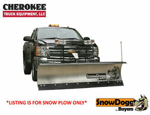 Snowdogg Buyers Products Md80 8 Ss Snow Plow For Smaller Trucks Suv S
