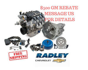 Chevrolet Oem Gm Performance Ls3 480 Hp Connect Cruise Package Engine 19301358