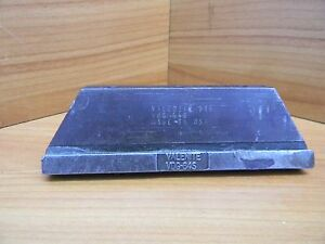 Valenite Lathe Cut Off Tool Vdg 64s Rubbed See Photos For Details Qe