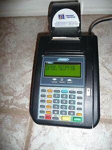 Hypercom T7plus Credit Card Machine Reader