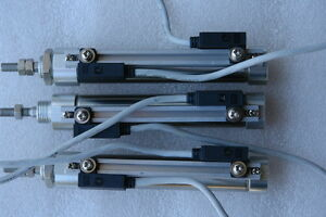 Smc Pneumatic Cylinder Cdj2kb16 60r f7 Lot Of 3 New