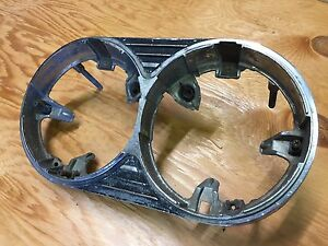 1964 1965 Pontiac Acadian Beaumont Rh Head Light Bezel Used Gm 573483