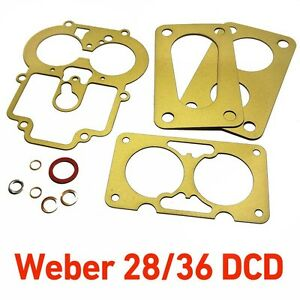 Weber 28 36 Dcd Service Gasket Kit Repair For Ford Capri 1600 Gt Cortina Anglia