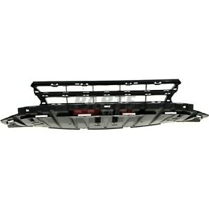 New Bumper Cover Grille Black Front Fits 2013 2015 Honda Civic 71105tr3a51