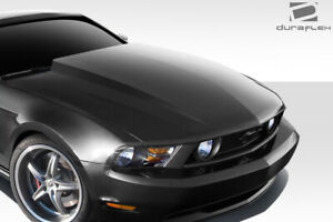 Duraflex 3 Cowl Hood 1 Piece For Mustang Ford 10 12 Ed_112456