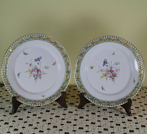 Pair Collector S Decorative Cabinet Plate