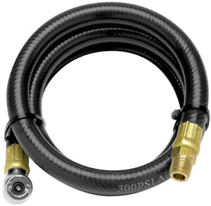 Performance Tool 4 Ft Air Hose With Tire Chuc W10057