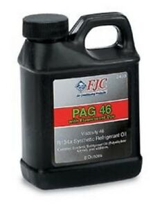 Fjc Pag Oil 46 With Dye 8 Oz 2493