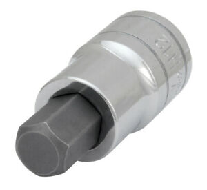 Performance Tool 1 2 Dr 12mm Hex Bit Socket W32982