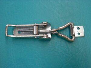 1 Exposed Adjustable Draw Latch Galvanized Steel Catch Quick Lock 13435a63