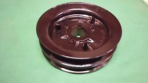 Jeep Willys Cj2a Cj3a Cj3b Crank Shaft Pulley Double Groove Heavy Built