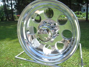 171 Polished Ion 17x9 8 On 6 5 Ford Chevy Dodge Wheels Mickey Style