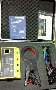 Aemc Ground Fault Leakage Detector Model 2610 W Artificial Neutral Kit