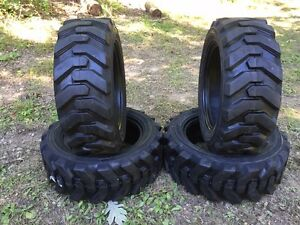 4 27x8 50 15 Hd Skid Steer Tires 27 8 50 15 solideal Xtra Wall for Case
