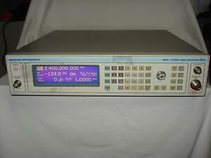 Ifr marconi aeroflex 2024 Signal Generator 9khz To 1 4ghz For Parts Or Repair