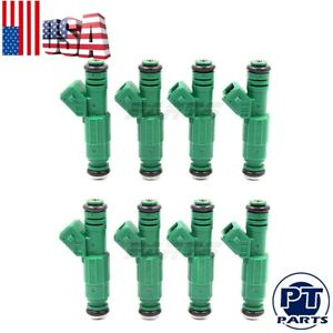 Set Of 8 Fuel Injectors 42lb Ev1 Fit Bosch Chevrolet Pontiac Ford Tbi Lt1 440cc