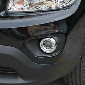 Front Fogl Ight Lamp Cover Trim For Jeep Compass 2011 2012 2013 2014 2015