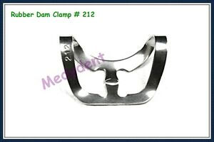 Endodontic Rubber Dam Clamp 212 Dental Instruments