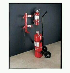 864 Fire Extinguisher Bracket 30 Lb Replacement Holder 0751